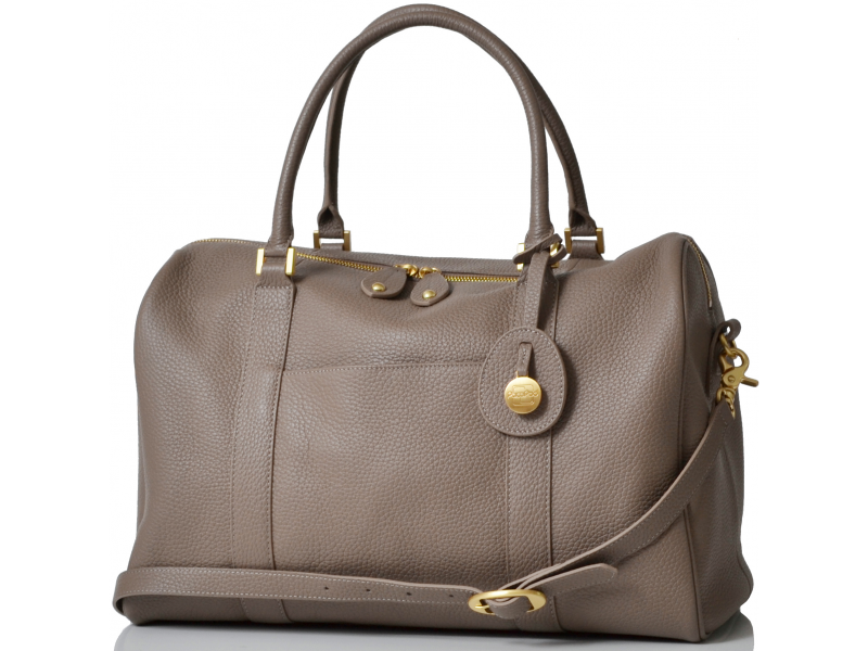 7e93c27da08 PacaPod FIRENZE latte - luxusní kožená kabelka i přebalovací taška