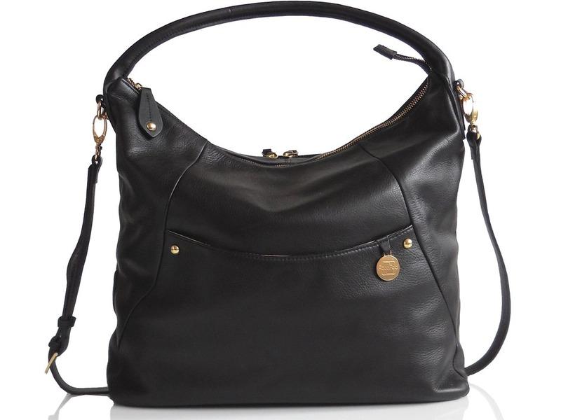 PacaPod JASPER černá - kabelka i přebalovací taška