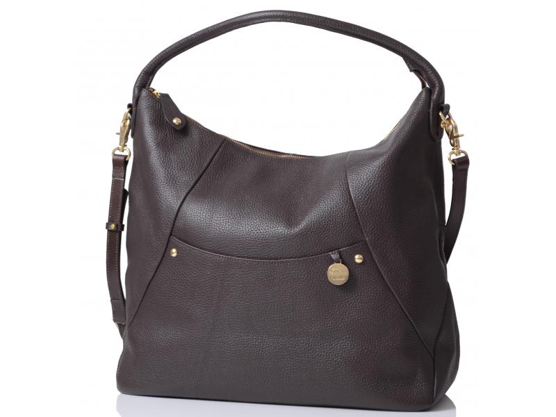 PacaPod JASPER čokoládová - kabelka i přebalovací taška