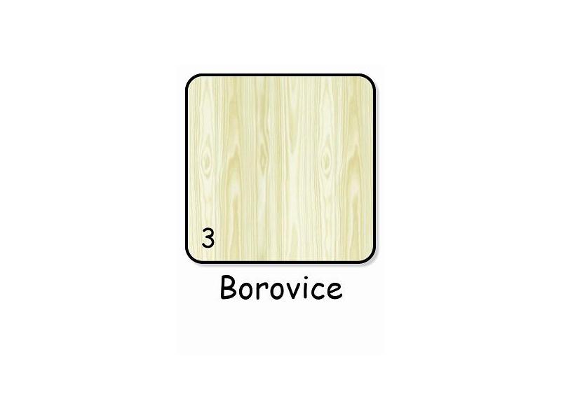 Puppolina Skříň Nella nebo Laura 2. 93x61x173 Borovice