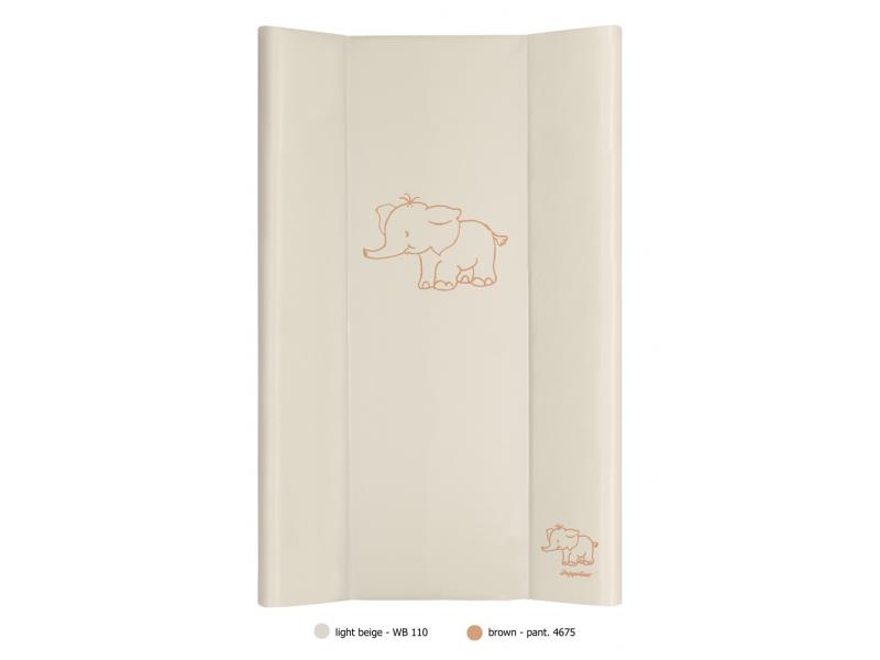 Puppolina Přebalovací podložka pevná 50x80 slon Béžová
