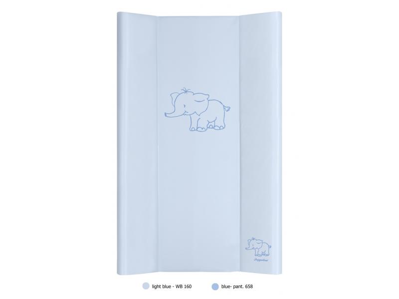 Puppolina Přebalovací podložka pevná slon 80x50 Modrá
