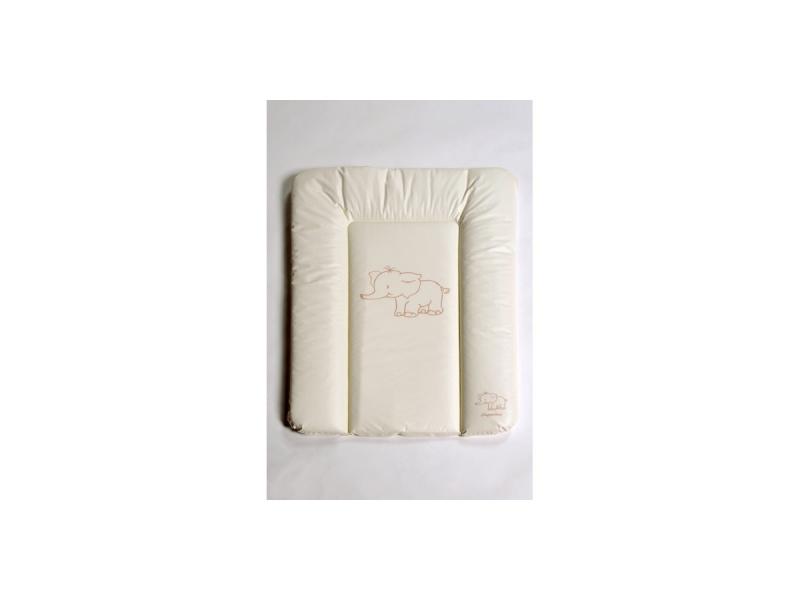Puppolina Přebalovací podložka měkká slon MALÁ 70x50 Béžová