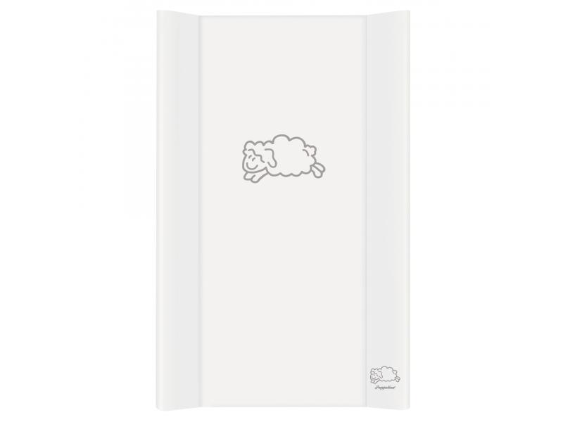 Puppolina Přebalovací podložka pevná ovečka 80x50 Bílá