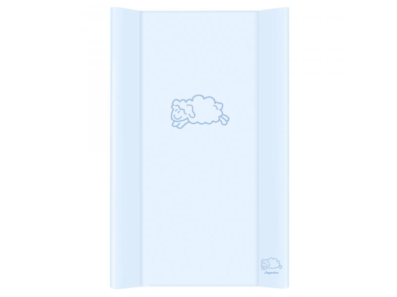 Puppolina Přebalovací podložka pevná ovečka 80x50 Modrá