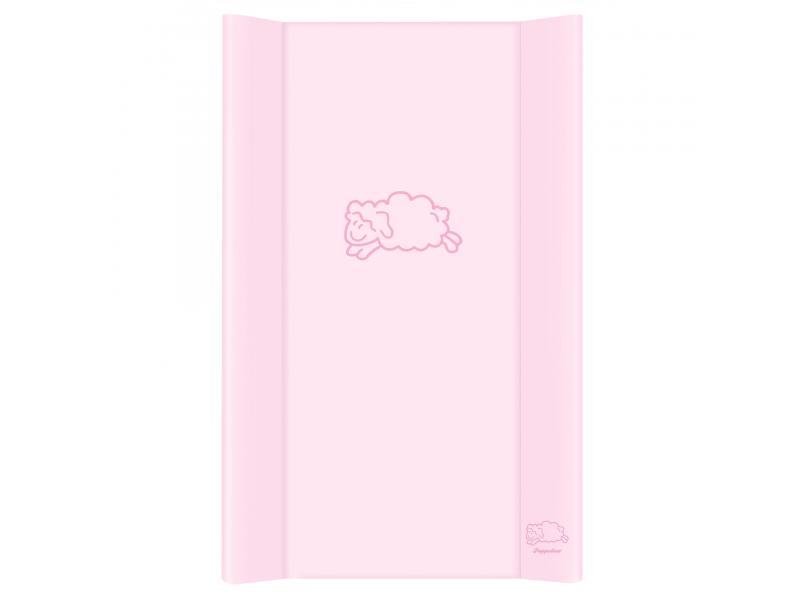 Puppolina Přebalovací podložka pevná ovečka 80x50 Růžová