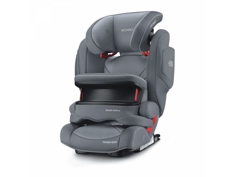 Recaro Monza Nova IS Aluminuim Grey