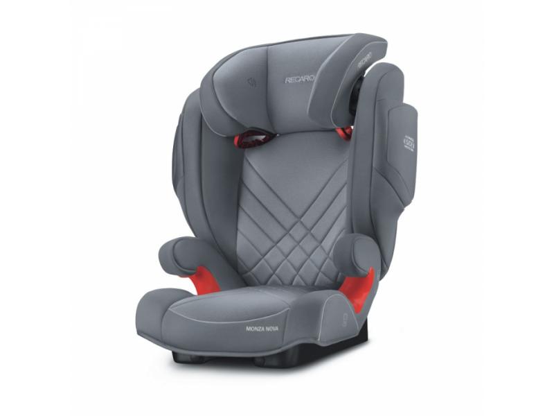 Recaro Monza Nova 2 Seatfix Aluminuim Grey
