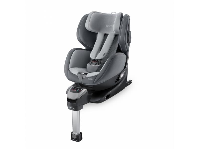 Recaro Zero.1 i-Size Aluminium Grey