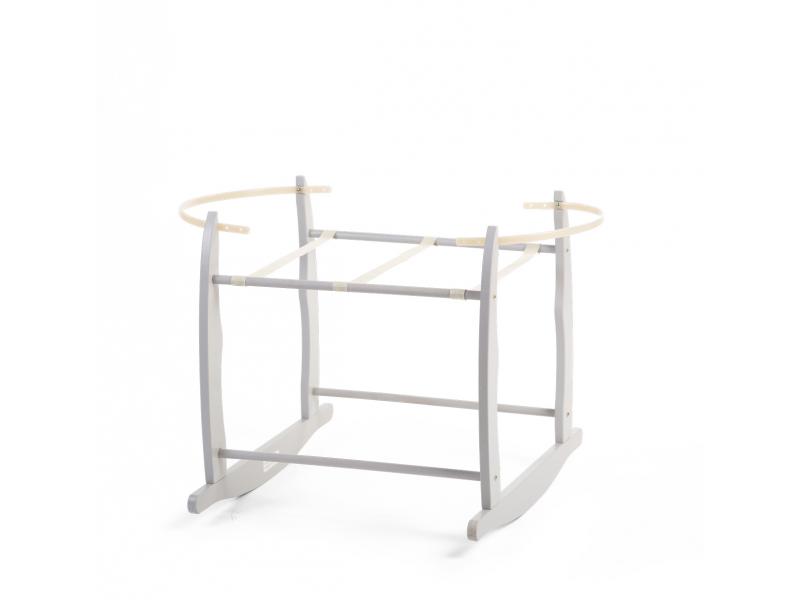 Houpací stojan pro košík na miminko Grey 1