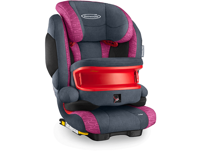 Recaro Storchenmühle Solar IS Seatfix rosy