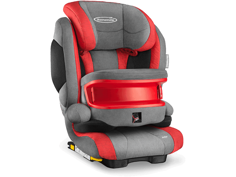Recaro Storchenmühle Solar IS Seatfix chilli