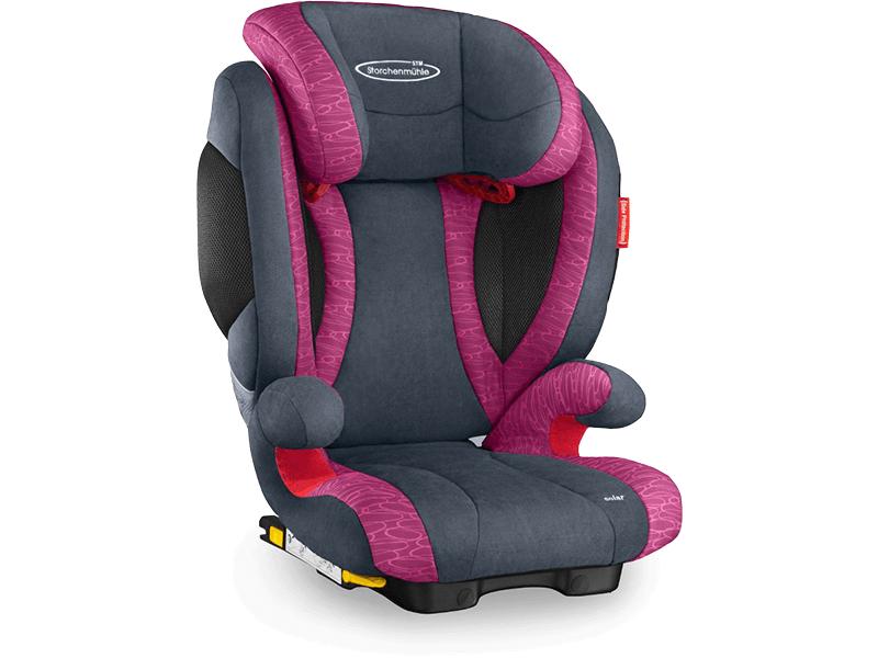 Recaro Storchenmühle Solar 2 SeatFix rosy