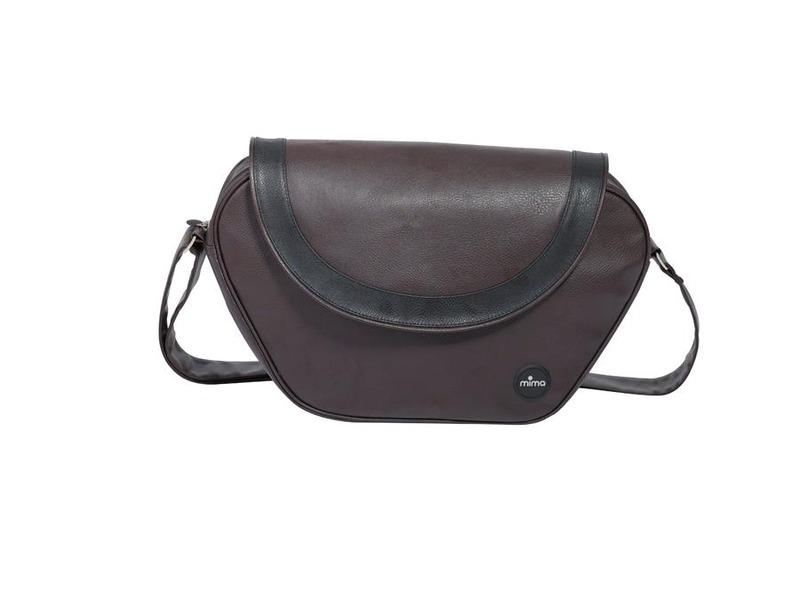 Mima Přebalovací taška Trendy Flair tmavě hnědá