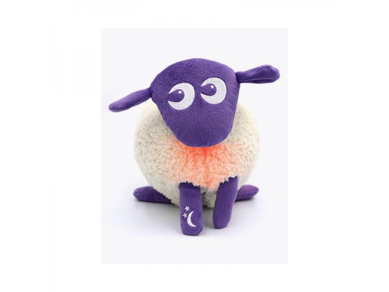 Sweet dreamers Ltd Ewan deluxe - uspávací ovečka - fialová