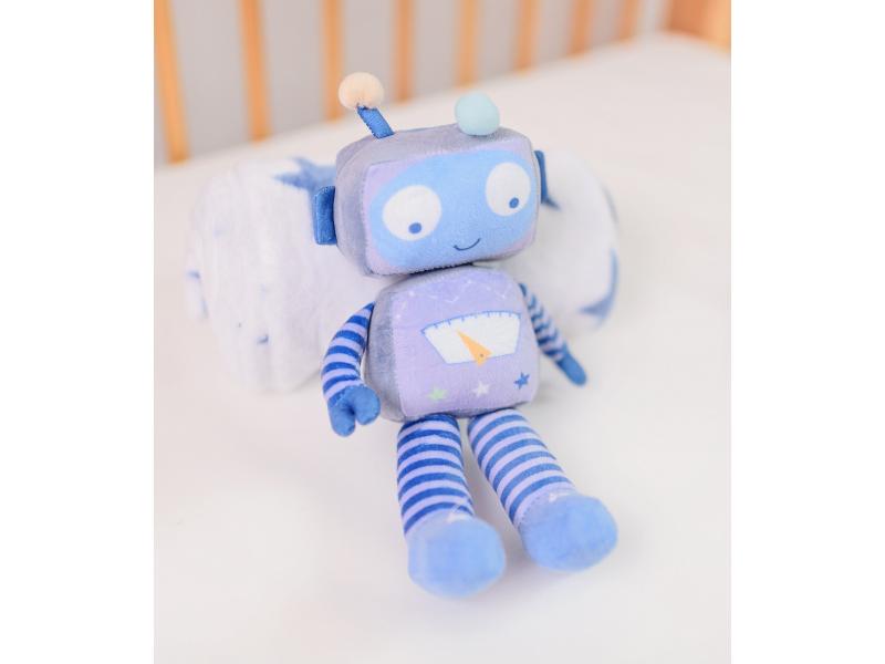 Dárková sada deka s robotem 1