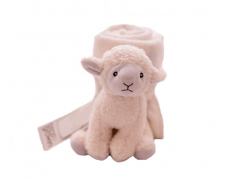 Dárková sada deka s ovečkou 1