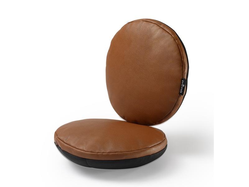 Sada sedacích polštářků do židličky Moon hnědá 1