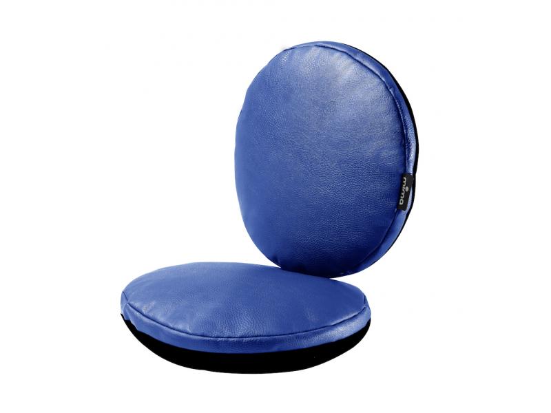 Sada sedacích polštářků do židličky Moon Royal Blue 1