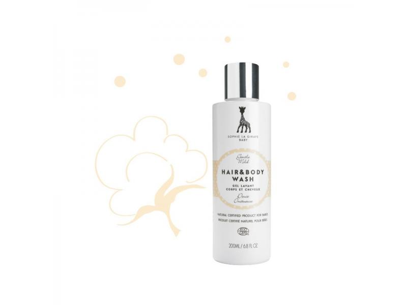 SOPHIE LA GIRAFE Baby Hair & Body Wash, 200 ml