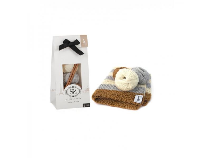 Dětská deka,Grey-Ivory-Tan 1