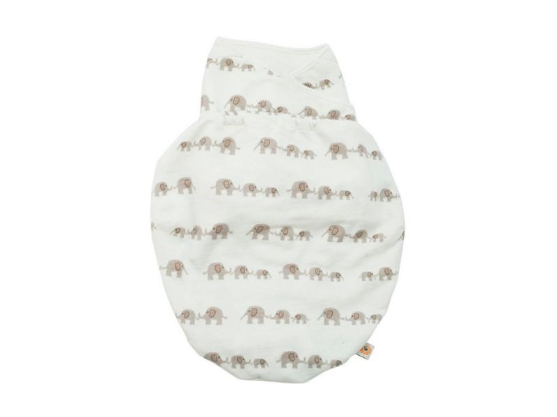 Ergobaby Zavinovačka Swaddler - Elephant