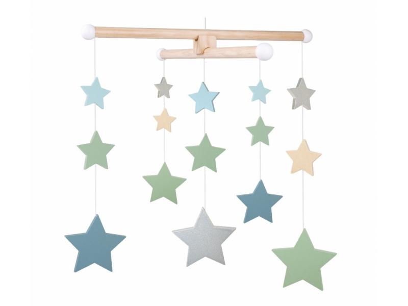 Dřevěný kolotoč hvězda 1