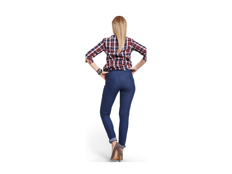 39bf070a0a6 Těhotenské kalhoty Jeggings M 3