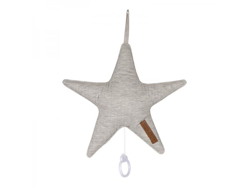 Hrající hvězda - pure grey 1
