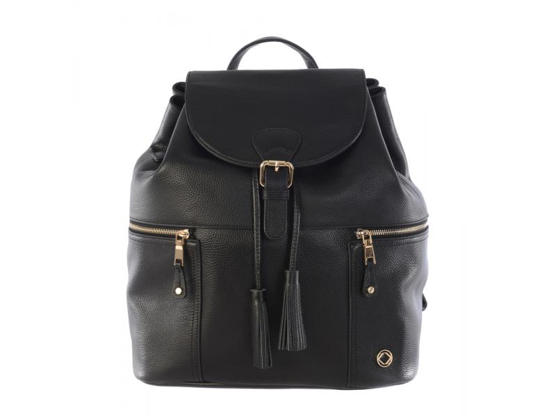 THOR BLACK - kožený batoh 1