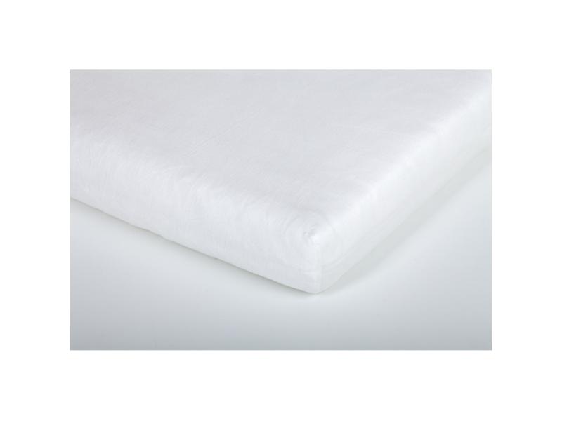 Träumeland prostěradlo do junior postele bavlna 90x200 weiß