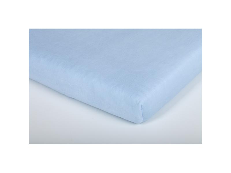 Träumeland prostěradlo do junior postele bavlna 90x200 hellblau