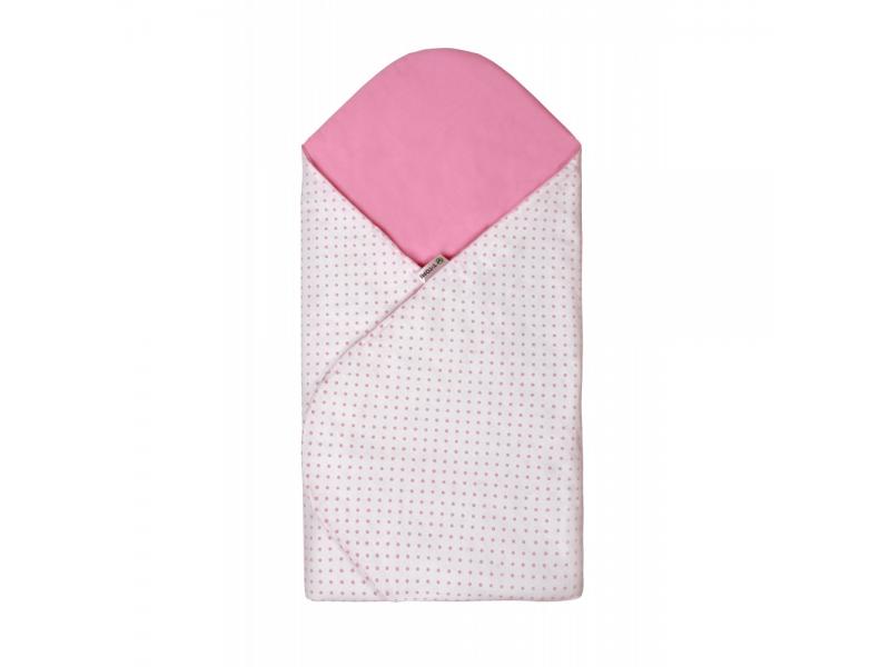 Rychlozavinovačka, white / little pink dots 1