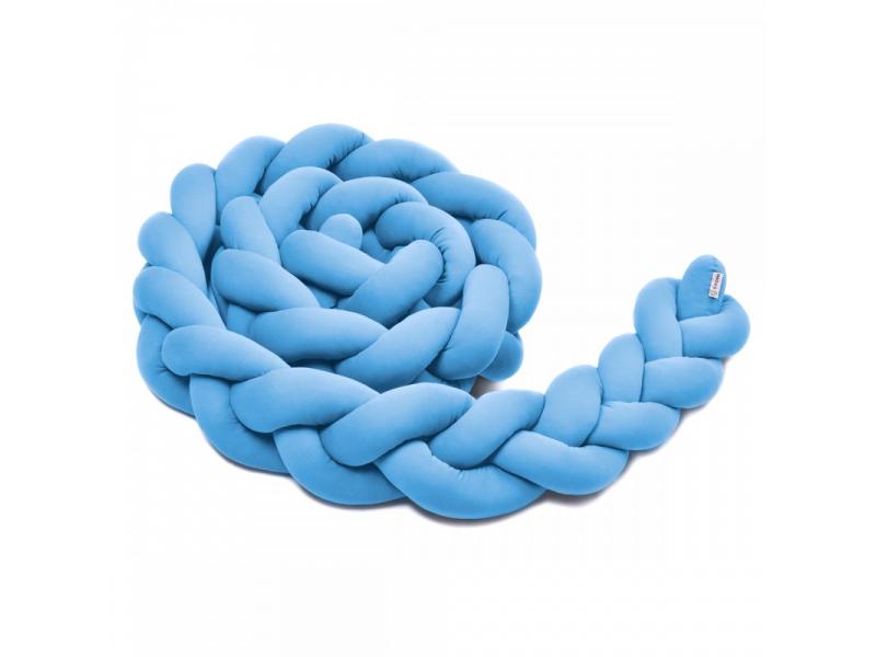 Pletený mantinel 180 cm, blue 1