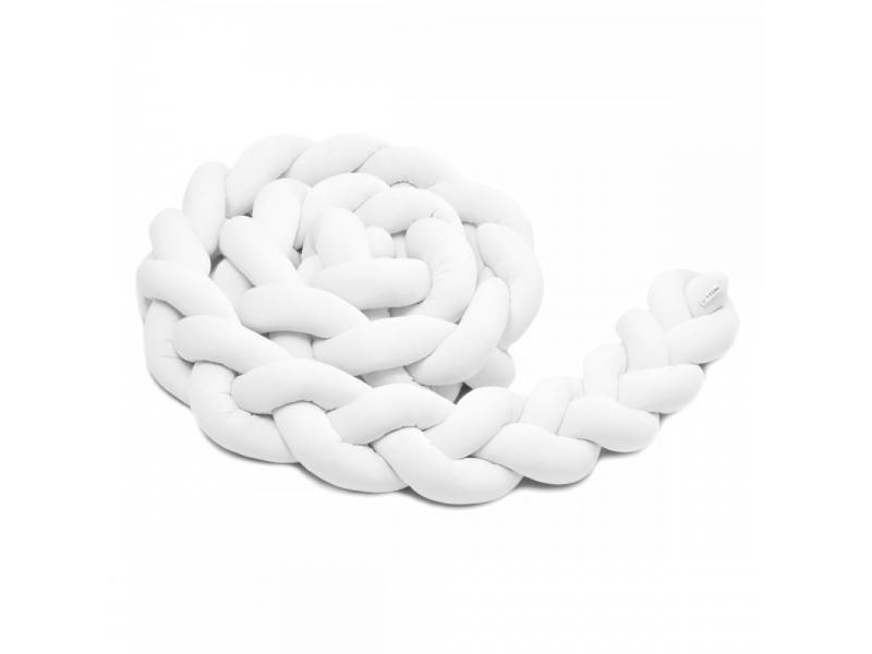 Pletený mantinel 360 cm, white 1