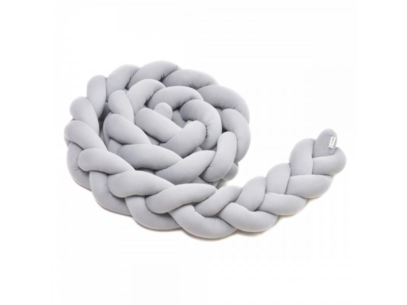 Pletený mantinel 360 cm, grey 1