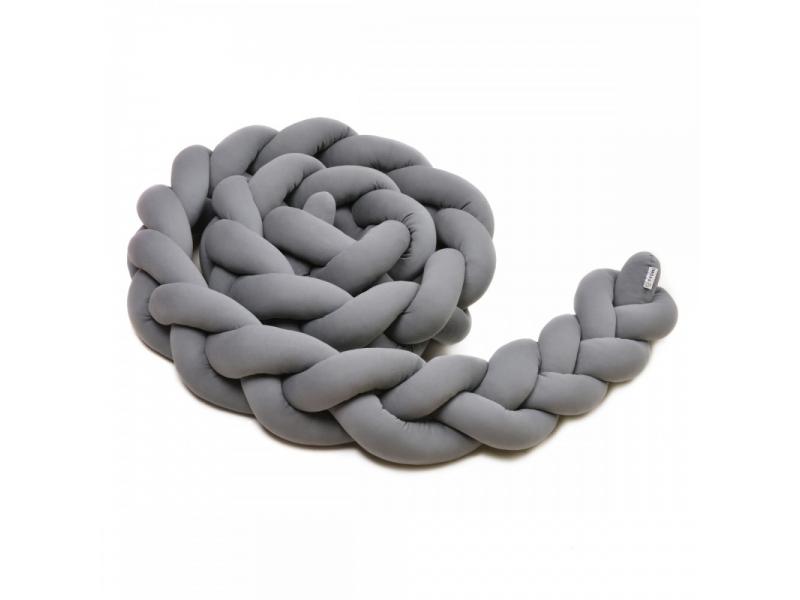 Pletený mantinel 360 cm, anthracite 1