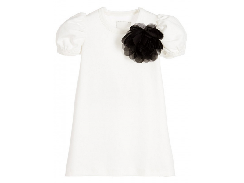THE TINY UNIVERSE Šaty The Tiny Flower White 68