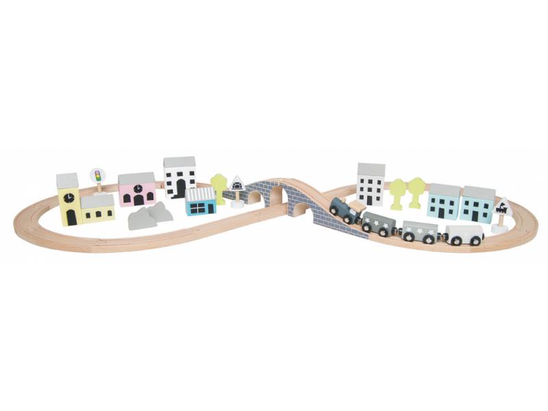 Dřevěná vlaková dráha 1
