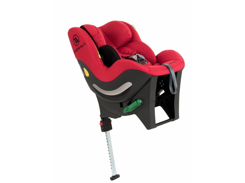 Autosedačka SKY (40-125cm, 0-25 kg) červená 1