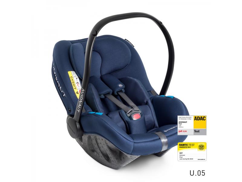 Autosedačka PIXEL (45-86cm, 0-13kg) 2020 modrá 1