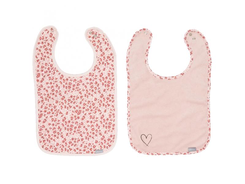 Bryndáčky Leopard Pink 2ks 1