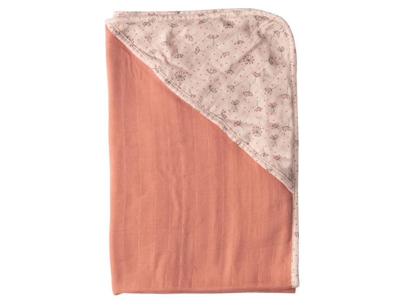 Mušelínový ručník s kapucí bambus Fabulous Wish Pink 1