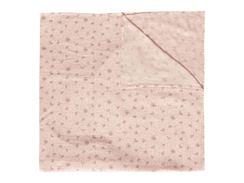 Mušelínová plenka 110x110 cm Fabulous Wish Pink 1