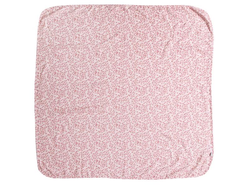 Mušelínová plenka 110x110 cm Leopard Pink 1