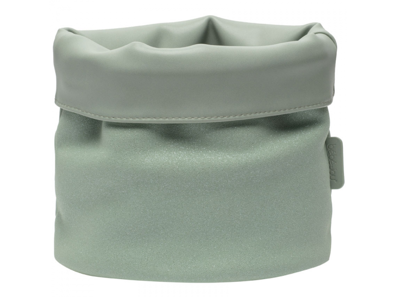 Textilní košík na kojenecké potřeby Fabulous Sparkle Green 1