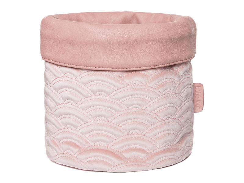 Textilní košík na kojenecké potřeby Fabulous Mellow Rose 1
