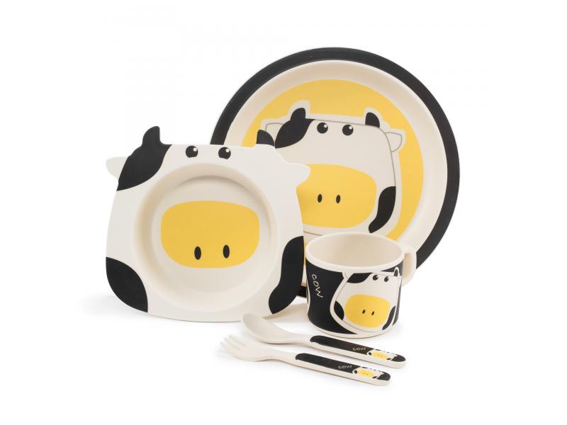 Zopa Bambusová sada nádobí, Cow
