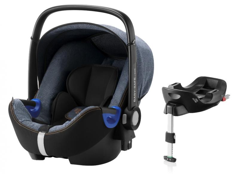 Britax Römer Autosedačka BABY-SAFE i-SIZE Bundle Flex, Blue Marble