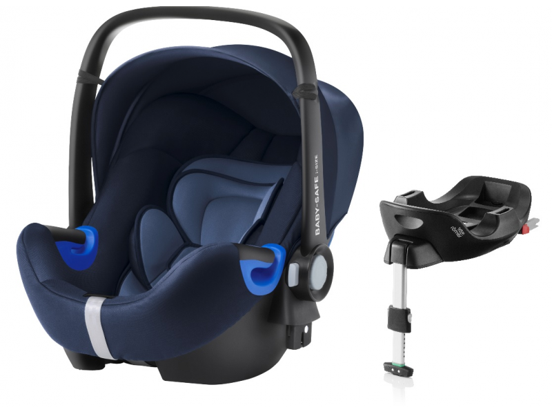 Britax Römer Autosedačka BABY-SAFE i-SIZE Bundle Flex, Moonlight blue